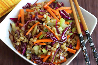 Root Vegetable Salad with Spelt Berries