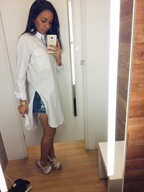 Blusão branco