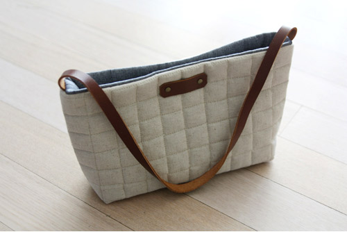 Sew a Mini Messenger Bag. Photo Tutorial.