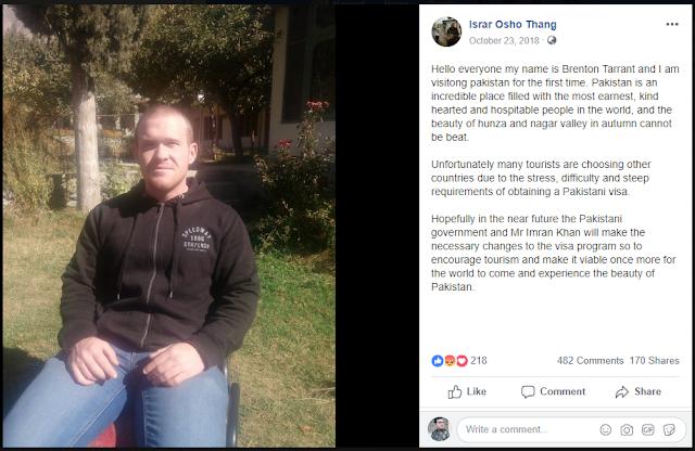 Brenton Tarrant: Aangirfan: NEW ZEALAND MOSQUE ATTACKS