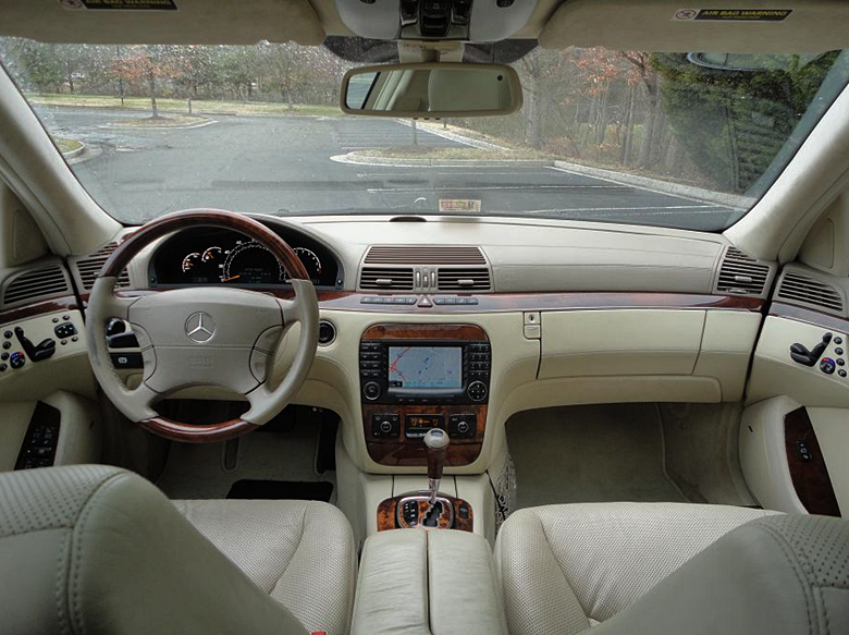 2003 Mercedes-Benz S600 Interior