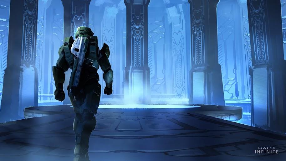Halo Infinite Master Chief 4k Wallpaper 15