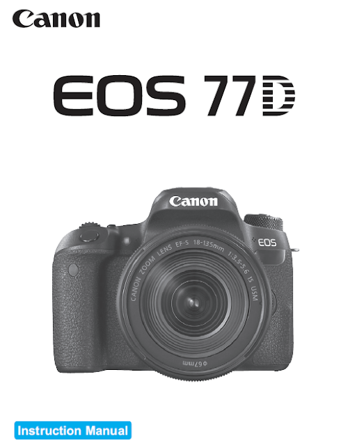 Canon EOS 77D PDF User Guide / Manual Downloads