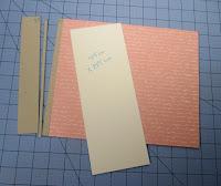 Cartulina blanca para forrar el lomo del libro de firmas