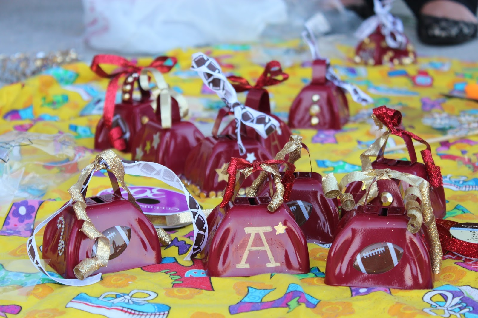 Confessions Of A Sports Mama Team Mama Idea Cowbell Decorating Party