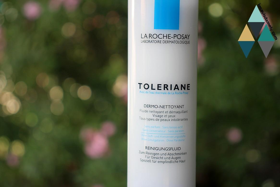 test fluide nettoyant et démaquillant visage et yeux peau intolérante toleriane