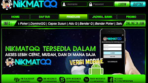 NikmatQQ Domino Qiu Qiu, Domino99, Poker Online indonesia paling Terpercaya