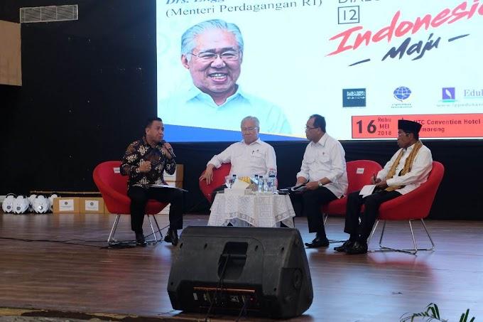 Konektivitas Menurunkan Biaya Logistik : Dialog Nasional Indonesia Maju ke 12 di Semarang