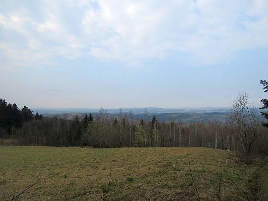 Widok na Pogórze Wiśnickie.