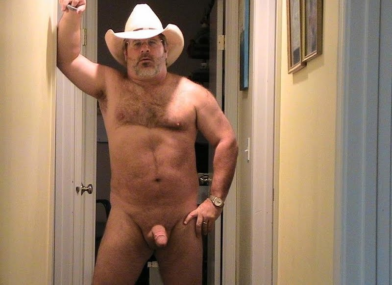 Gay bear cowboy bones an ass