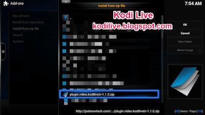How To Install Kodi Live TV Addon On Kodi Xbmc