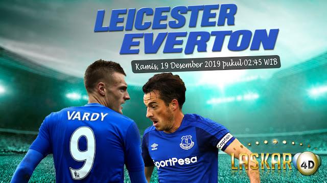Prediksi Pertandingan Bola Everton vs Leicester City 19 Desember 2019
