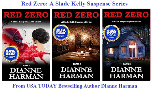 Dianne Harman – Red Zero is featured at the HBS Author's Spotlight Series Showcase
