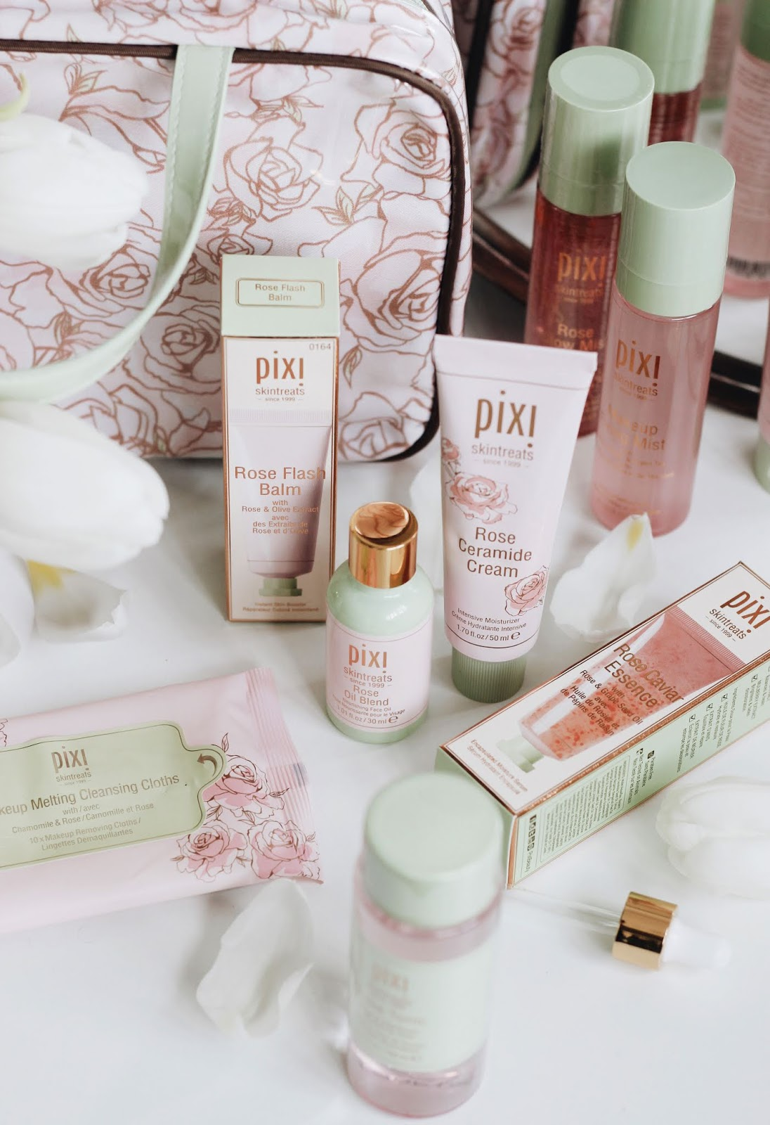 Pixi Rose Infused Skincare Review