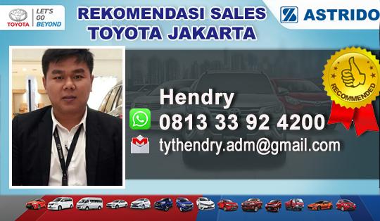Rekomendasi Sales Toyota Jakarta Pusat