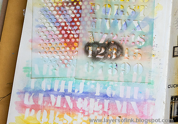 Layers of ink - Pastel Distress Crayon Tutorial by Anna-Karin