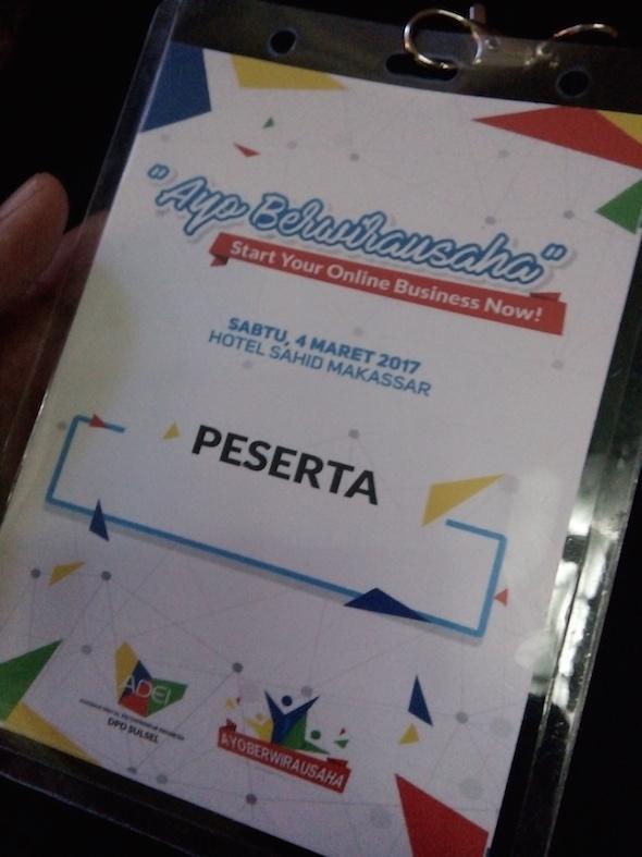 """Ketemu Digital Entrepreneur Lewat Seminar """"Ayo Berwirausaha"""""""