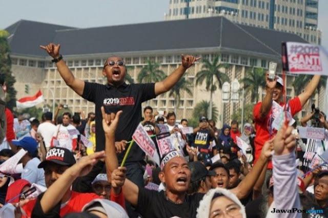 Pengamat: Gerakan 2019 Ganti Presiden Bisa Jadi Bumerang