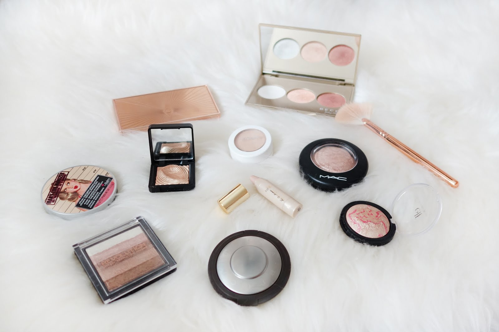 My Makeup Stash Highlighters Xueqi S Beauty Episode