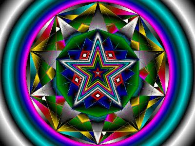 Pentagonal Star, Simbol Geometri Suci