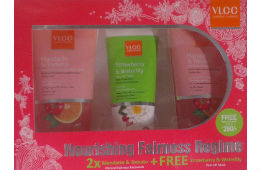 VLCC tomato Facewash 175gr 2pcs + free strawberry & water lily Face wash For Rs 169 at Amazon