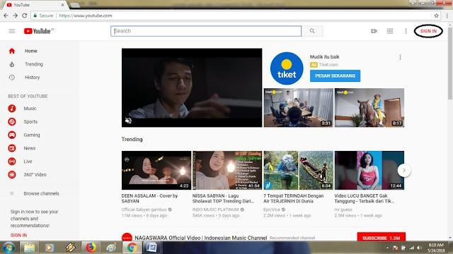 Cara Upload Video di Youtube bagi Pemula