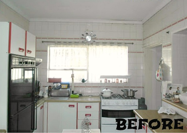 Kitchen Make-Over (Budget-Friendly) - BEFORE