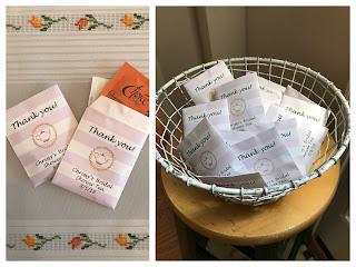 bridal shower tea favors