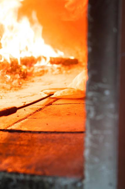 Cottura del pane sardo