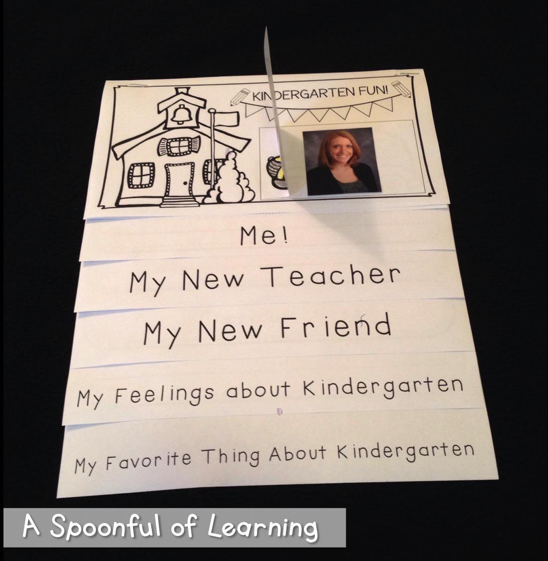 Back to School Flip Books 3
