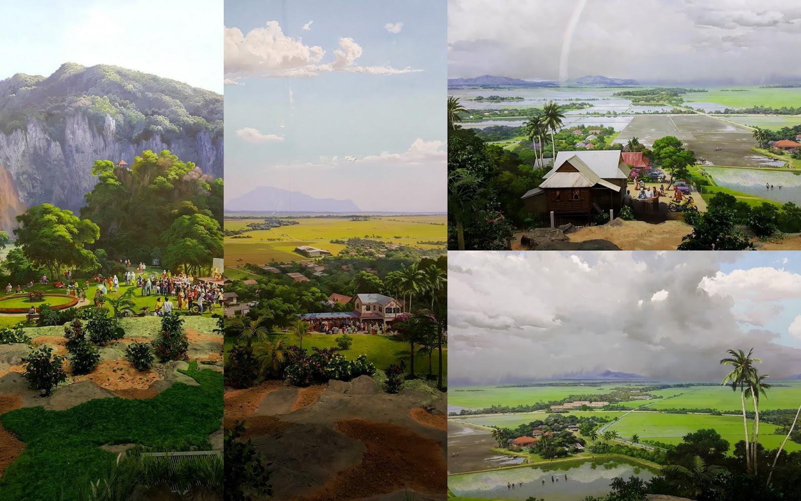 Pemandangan dari Puncak Gunung Keriang