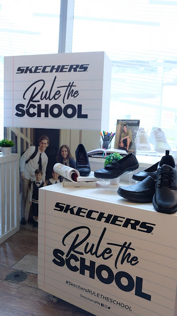 a photo of Skechers 2019 Back to school collection.