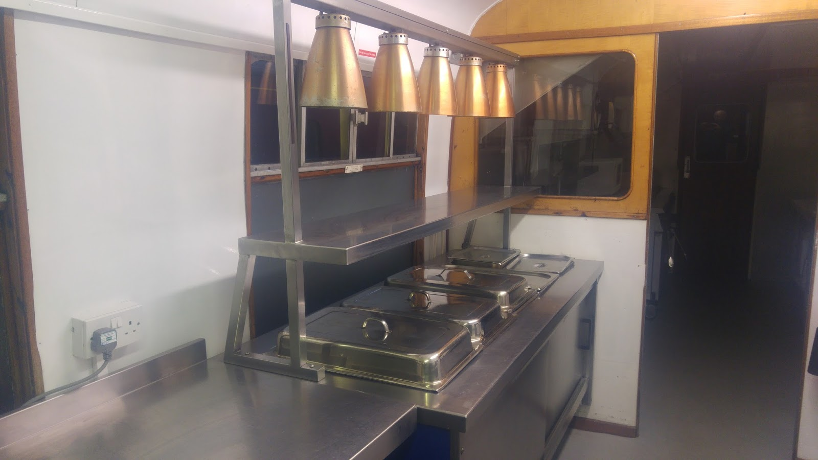restoring coaches at aviemore april into may