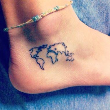 Mapa Da Tatuagem