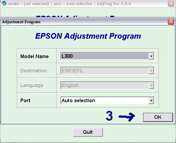 How to Reset Epson L300 | Printer Tools