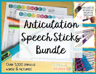 Articulation Speech Stick Bundle