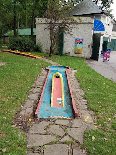 Crazy Golf at Stanley Park in Blackpool