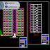 مخطط مشروع عمارة سكنية 10 طوابق (R+10) اتوكاد dwg