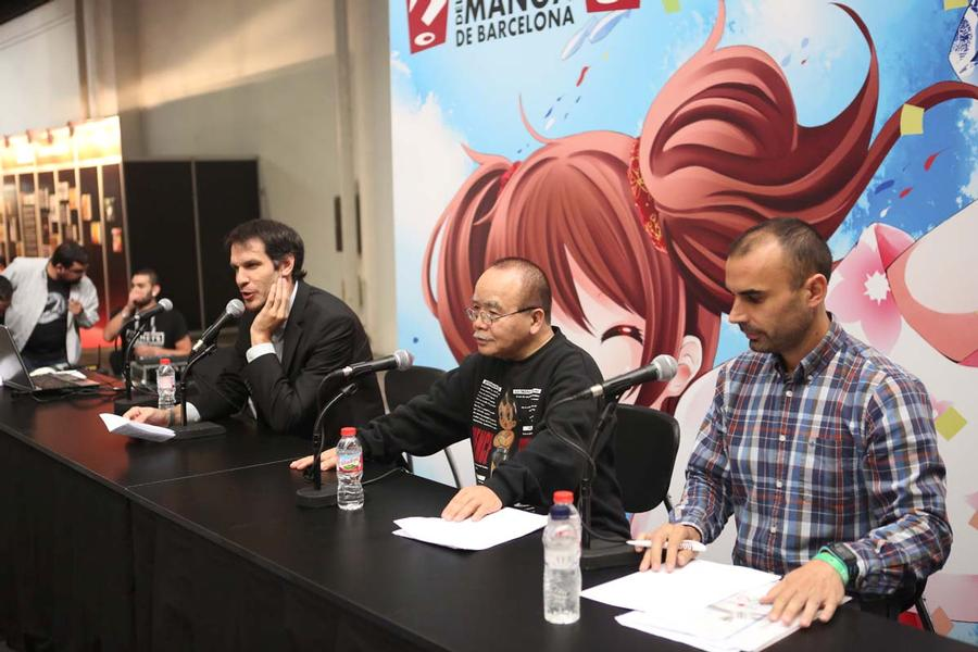 "Conferencia ""Osamu Tezuka y yo"" en XXIII Salón del Manga de Barcelona"