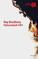 Fahrenheit 451 - Libri, scrittori, copertina