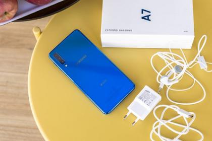 Cara Screenshot Samsung A7 2018 Tanpa Tombol