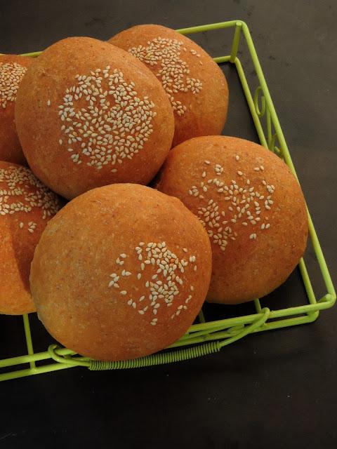 Vegan Spelt Flour Buns