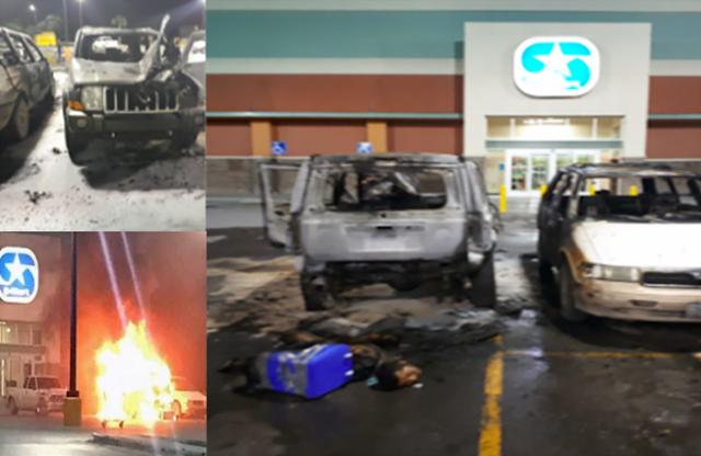 """""""Ardió Reynosa El Cártel del Golfo descuartiza a 2 dos y los abandona en camioneta y les prende fuego"""
