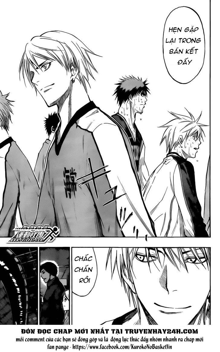 Kuroko No Basket chap 169 trang 13