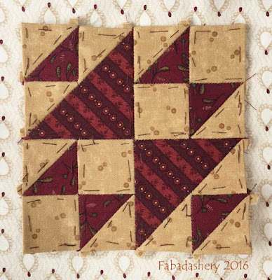 Dear Jane Quilt - Block L5 Chattanooga Charlie