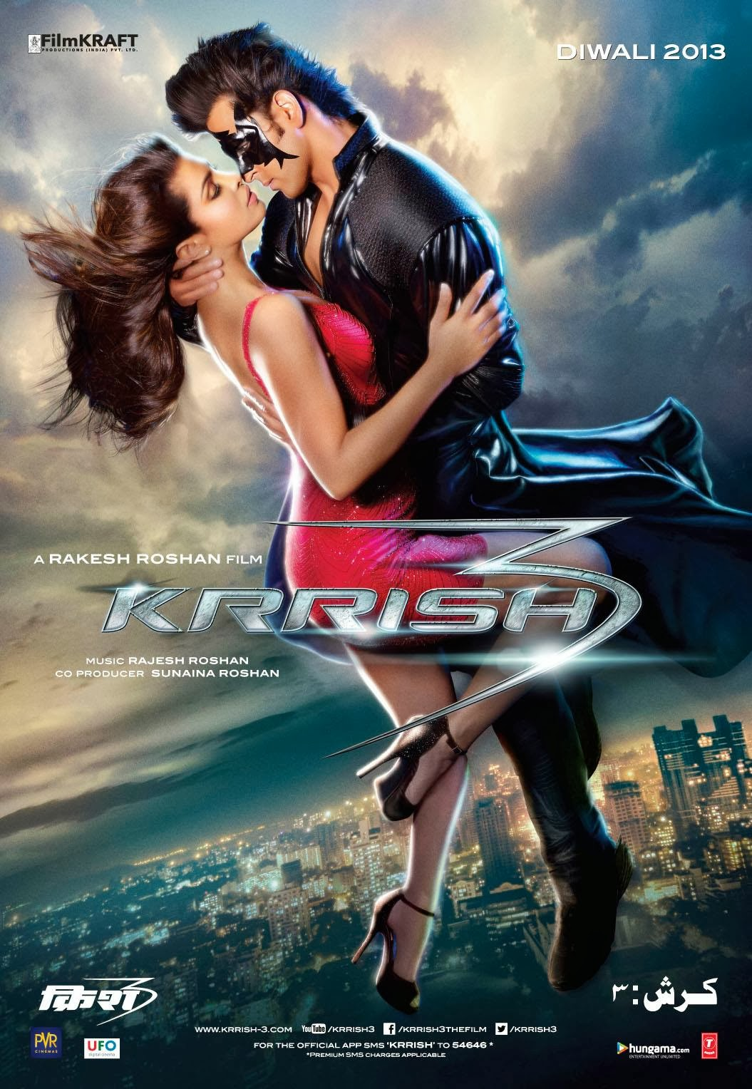 Krrish 3  2013   BD50  1080p Untouched BluRay   Eros  DRs | 38 GB |