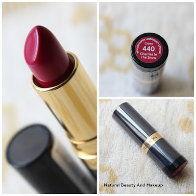 Revlon Super Lustrous Cream Lipstick, 440 Cherries in The Snow