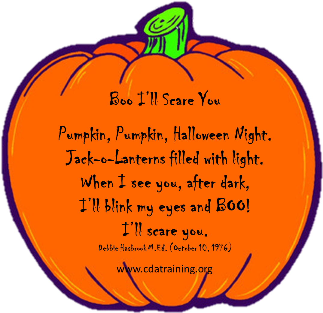 Child Care Basics Resource Blog Boo Pumpkin Puppet And Game