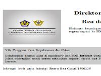 Modul PDE Internet PIB Dan PEB Export & Import Bea Cukai