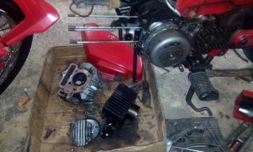 Gambar cara buat motor power